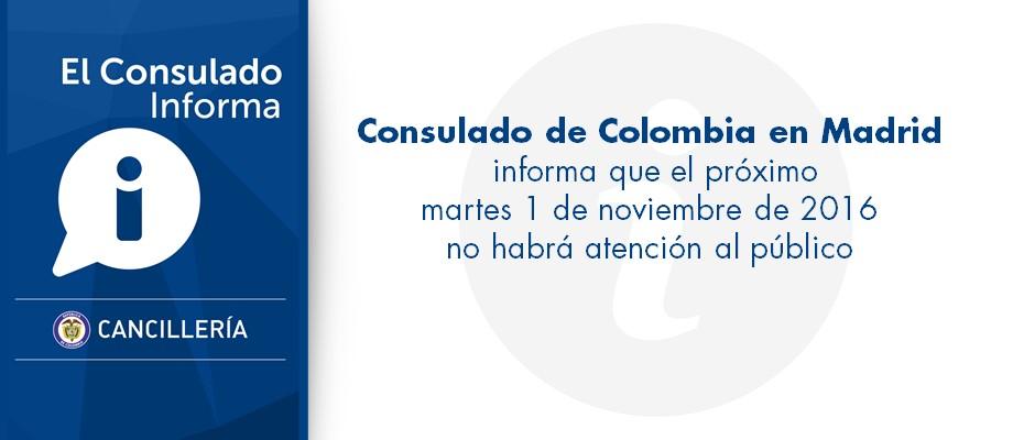 Consulado de colombia en madrid for Oficina atencion al contribuyente madrid