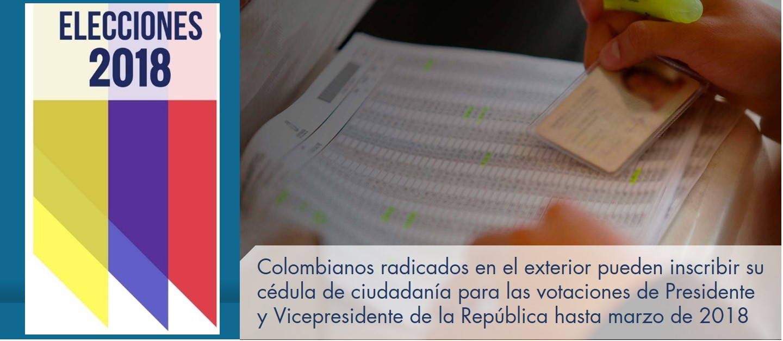 Colombianos Radicados En El Exterior Pueden Inscribir Su C Dula De Ciudadan A Para Las